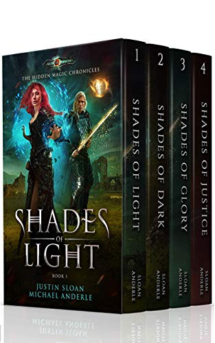 The Hidden Magic Chronicles Boxed Set by Justin Sloan