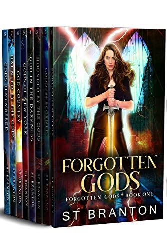 Forgotten Gods Boxed Set: The Complete Series by CM Raymond