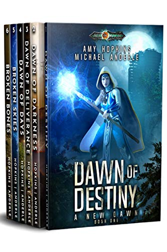 A New Dawn Omnibus: Complete Series Boxed Set by Amy Hopkins