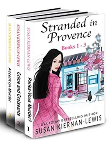 The Stranded in Provence Mysteries, Books 1-3 by Susan Kiernan-Lewis