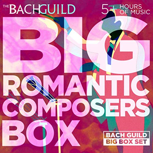 Big Romantic Composers Box by Various Artists