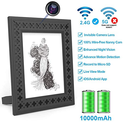 Hidden Camera WiFi Photo Frame