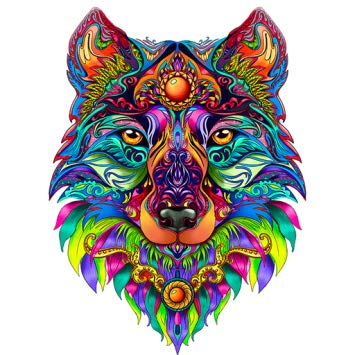 ColorWolf - Coloring Book for Adults