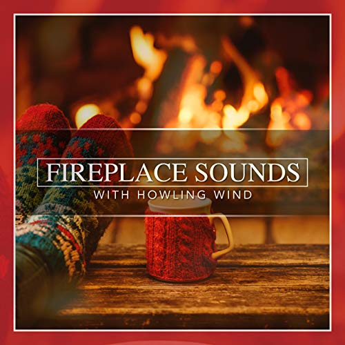 Fireplace Sounds with Howling Wind by Nature Sounds