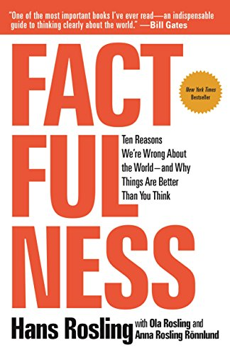 Factfulness: Ten Reasons We're Wrong About the World--and Why Things Are Better Than You Think by Hans Rosling