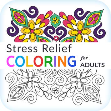 Stress Relief Adult Color Book