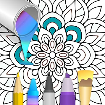 Mandala Number Coloring