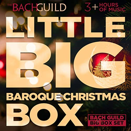 Little Big Baroque Christmas Box By Various Artists